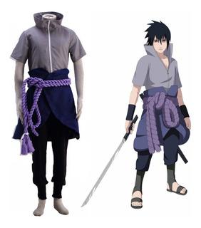 Fantasia Infantil - Sasuke Uchiha - Cosplay Naruto Criança