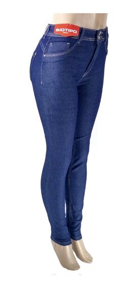 Calça Jeans Feminina Skinny Biotipo Melissa Azul Biotipo