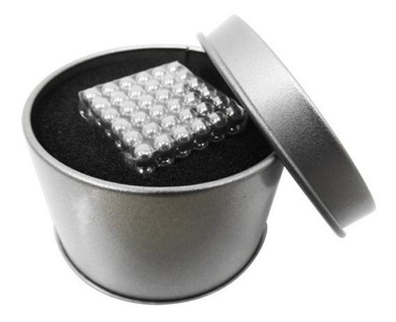 Neocube 5mm Juego De 216 Esferas Cubo De Neodimio Figuras