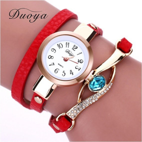 Relógio Femenino Pulseira Com Pedra Lançamento Promoção