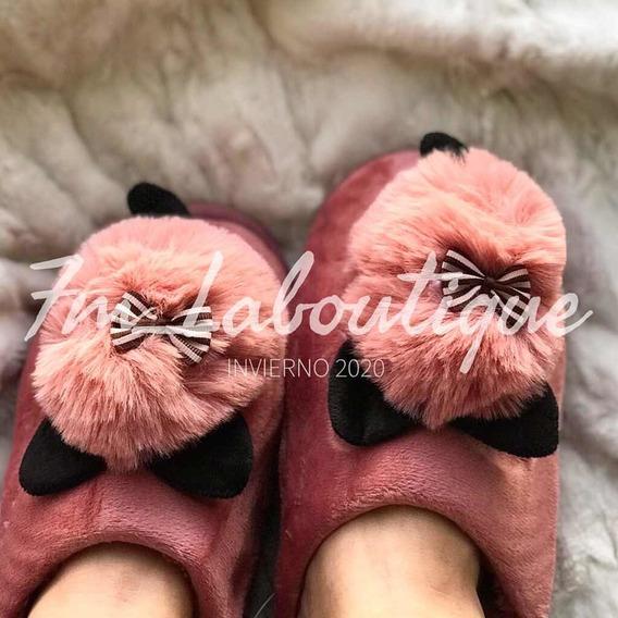 Pantuflas De Felpa Acolchonadas Para Niña /mujer
