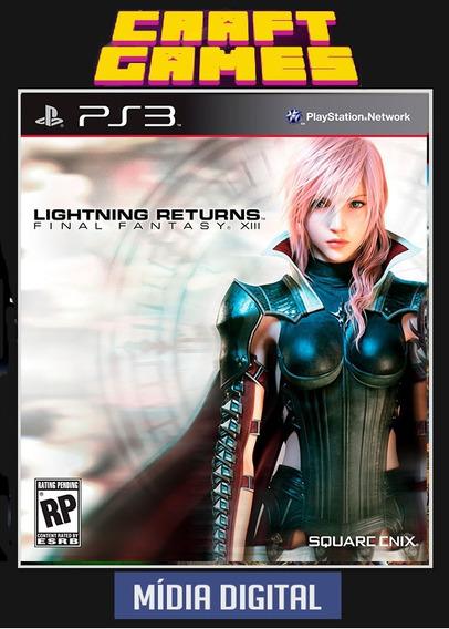 Final Fantasy Xiii Lightining Returns Ps3 Psn Envio Imediato