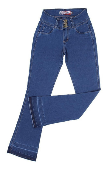 Calça Jeans Feminina Flare Clara Rodeo Western 22646