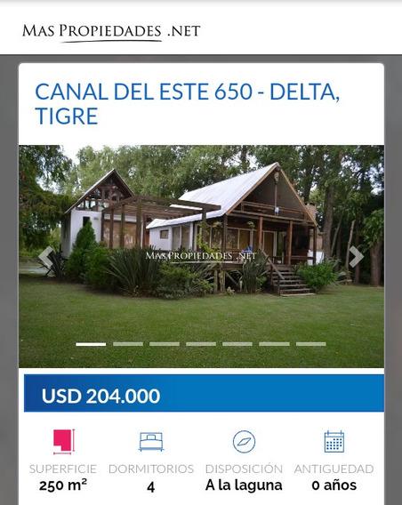 Casa 4 Dormitorios Zona Norte Tigre Delta