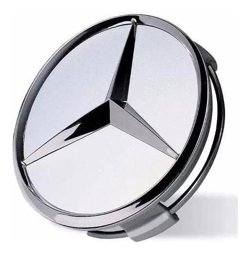 Calotinha Mercedes Benz Trava Em Aco.