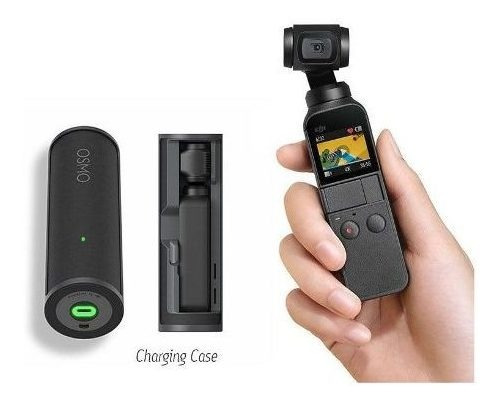 Camera Osmo Pocket 4k 12mp C/ Estabilizador+ Case Carregador