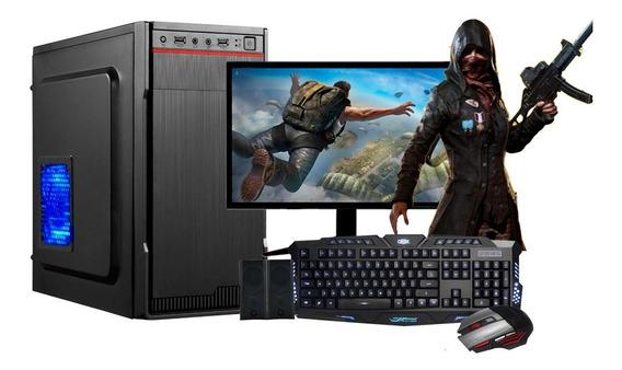Computador Intel 8gb Ram Hd500gb C/monitor 18,5 Wifi Wind 10