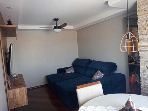 Imagem 1 de 14 de Belo Apartamento À Venda Na Vila Bruna Na Rua Rio Verde 451