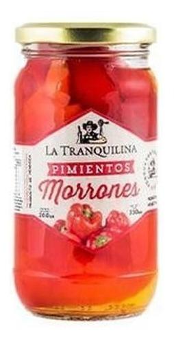 Morrones La Tranquilina X 330g
