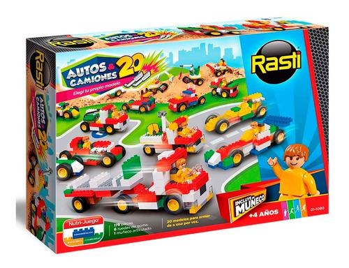 Rasti Auto Y Camiones 175pzs 01-1080