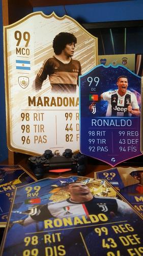 Cartas Fifa Ultimate Team A3 30*42cm - Fifa 20 - Messi