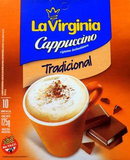Cappuccino Instantaneo La Virginia 10 Sobres Individuales