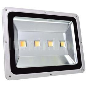 Refletor Holofote Quadrado Led Luz Branca 200w Bivolt