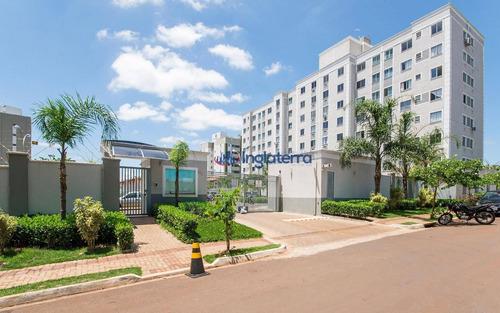 Apartamento À Venda, 46 M² Por R$ 165.000,00 - Vale Dos Tucanos - Londrina/pr - Ap0794