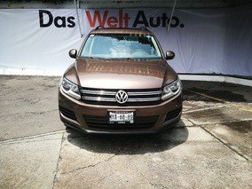 Volkswagen Tiguan 2.0 Sport&style Paq Nave At 2014 Marron