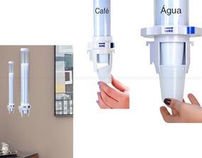 2 Suporte Porta Copos Descartavel Cafe E Agua Automatico