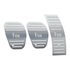 Pedaleira Volkswagen Fox Manual 2003 Até 2014 Aço Inox