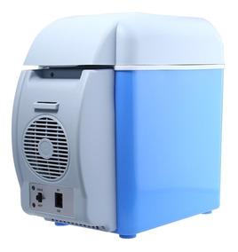 Mini Geladeira Portátil Aquece Refrigera 7.5l 12v Caminhão