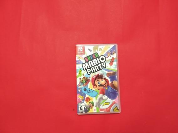 Super Mario Party Mídia Física Nintendo Switch