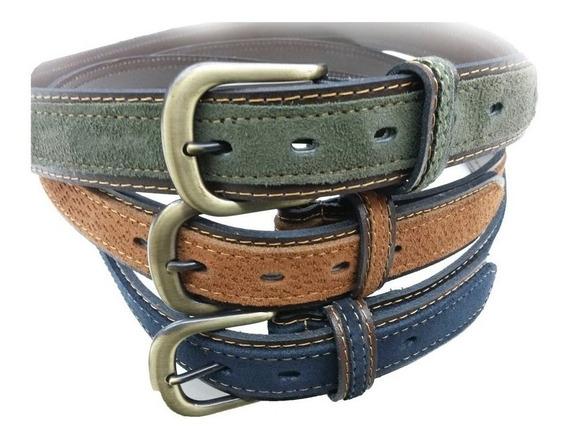 Cinturon Carpincho Cinto De Cuero, Cinto Gamuzado, Hermoso!