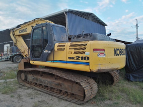 Excavadora Kobelco Sk210