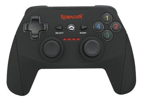 Imagen 1 de 2 de Control joystick inalámbrico Redragon Harrow G808 negro