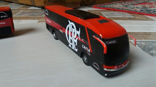 4 Miniaturas De Ônibus Escala 1/64 Marcopolo