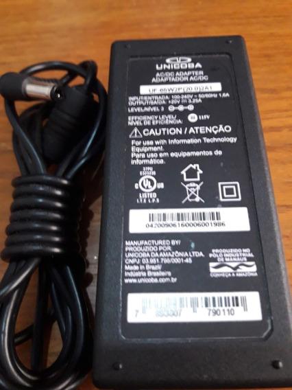 Carregador Notebook Uf-65w2p (20.0)2b2 19v.3,42a. Novo!!!