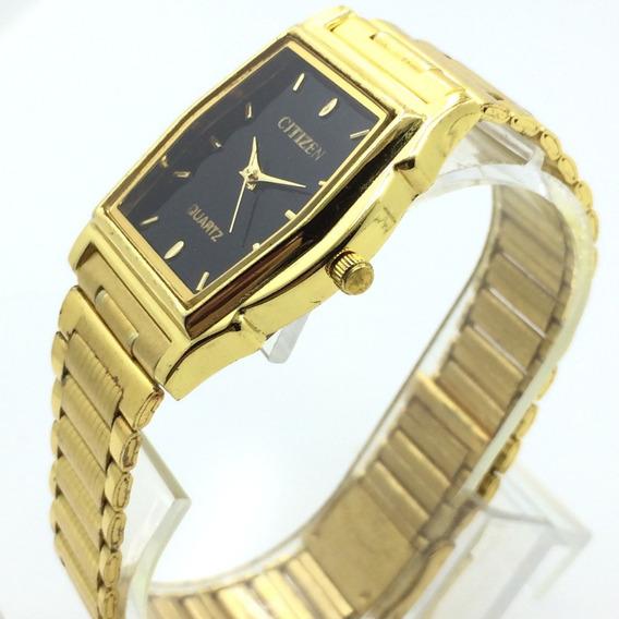 Relógio Citizen Banhado A Ouro