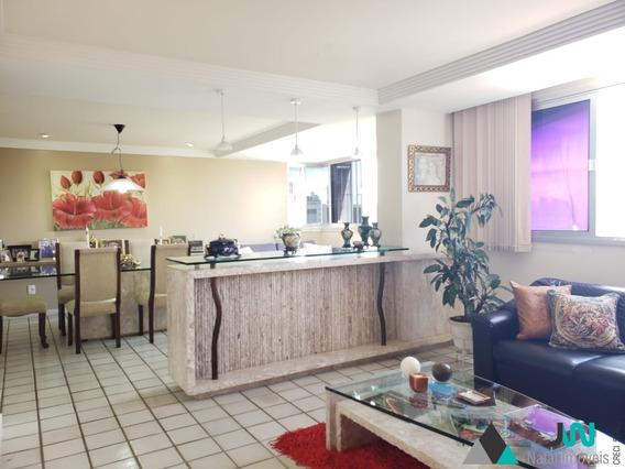 Residencial Maria Clara - Venda De Apartamento No Tirol, Com 3 Quartos Sendo 2 Suítes, Todo Reformado E Pertinho Do Tre E Parque Das Dunas - Ap00192 - 33957213