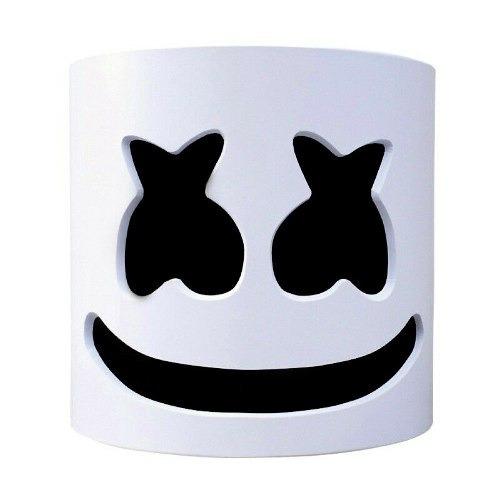 Marshmello Mask Dj Mascara Casco Fortnite Cosplay