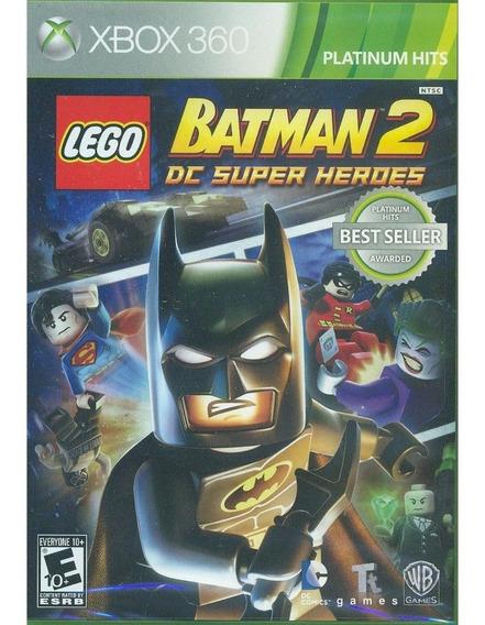 Lego Batman 2 Dc Super Heroes Xbox 360 Original Mídia Física