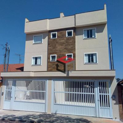 Cobertura Com 2 Dormitórios À Venda, 100 M² Por R$ 290.000 - Parque Novo Oratório - Santo André/sp - Co51293