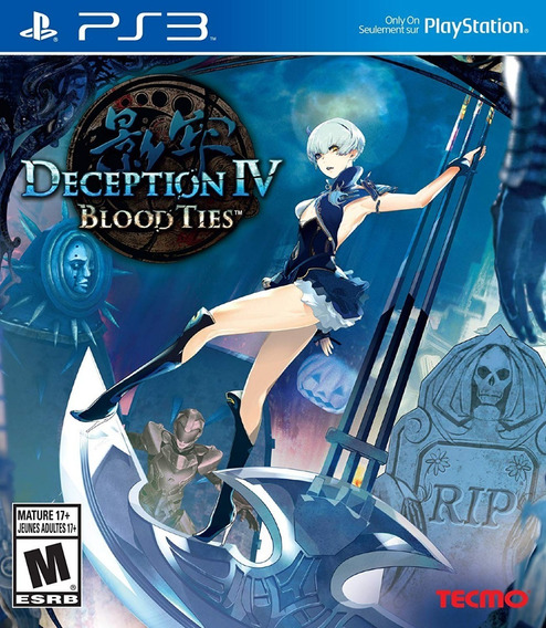 Jogo Deception Iv Blood Ties Ps3 - Lacrado