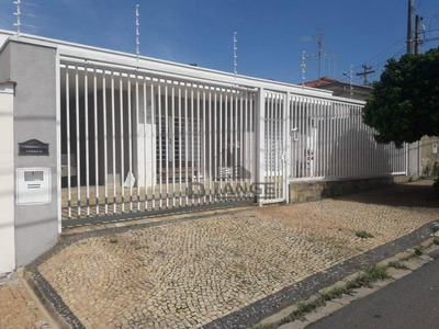 Casa Com 4 Dormitórios À Venda, 247 M² Por R$ 800.000 - Vila Nogueira - Campinas/sp - Ca12607