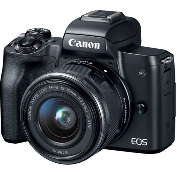 Camera Canon Eos M50 Com Lente 15-45mm