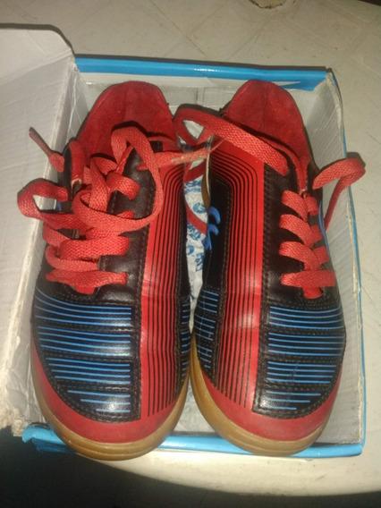 Zapatos Hummer Futbol Sala Usado En Perfectas Condiciones