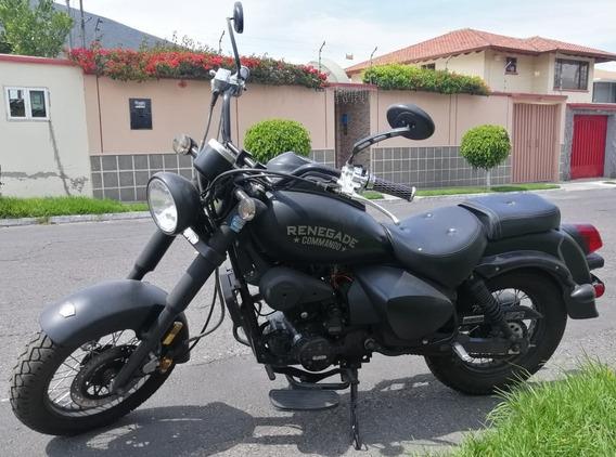 Moto Renegade Comando 200