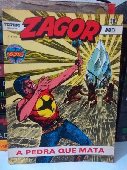 Zagor Nº19 A Pedra Que Mata (frete Grátis) Record