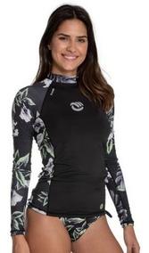 Kit Camisa Feminina Proteção Solar Upf 50+ Calcinha Biquini