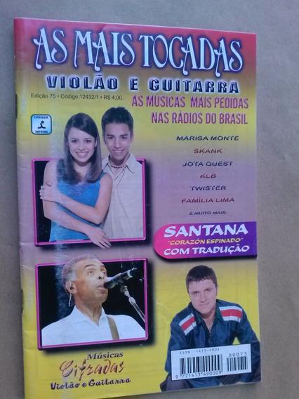 Revista - As Mais Tocadas - Violão& Guitarra 75