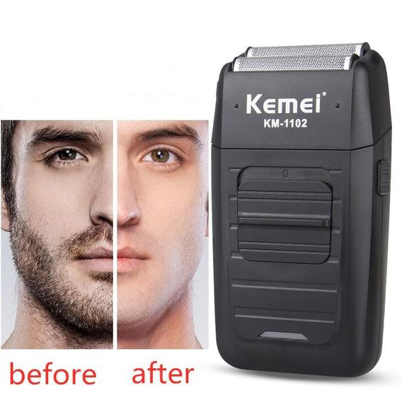 Máquina De Barber Shaver Kemei Km-1102 Bivolt
