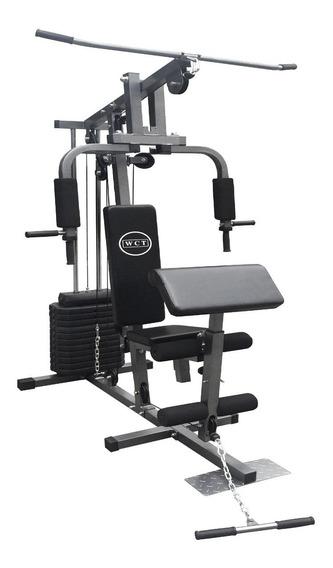 Multi Estação De Musculação Completa Com 80kg Em Anilhas