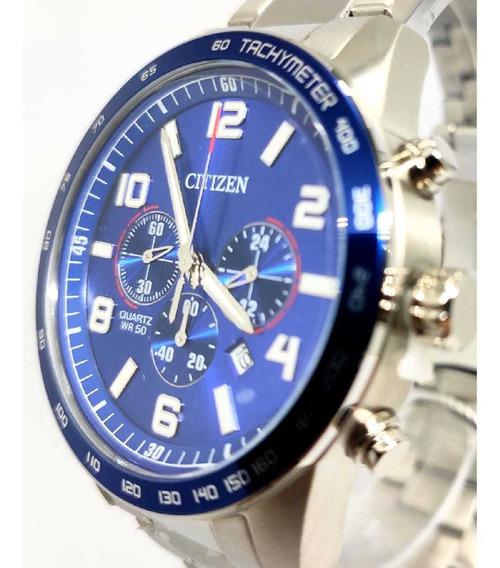 Relógio Citizen Masculino Todo Em Aço Tz31454f - Nfe