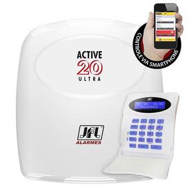 Central De Alarme Active 20 Ultra Jfl Com Teclado