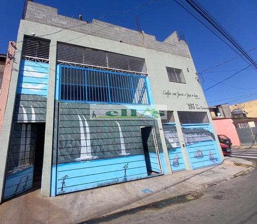 Imagem 1 de 15 de Galpão 300m² Em Jardim Ana Maria  -  Carapicuíba - 4487