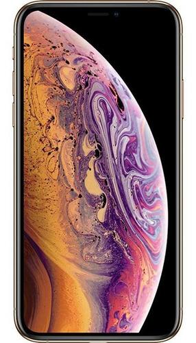 Imagem 1 de 4 de iPhone XS 64gb Dourado Usado Bom
