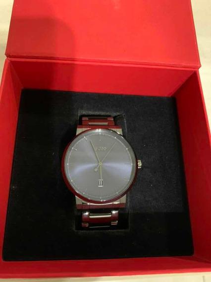 Relógio Hugo Boss - Masculino Aço Cinza