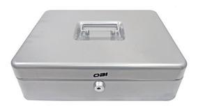 Caja Metal Dinero Sencilla 30 Cm Obi