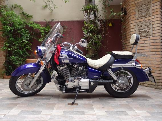 Shadow 750 Honda - Azul 35 Mil Km (2008)